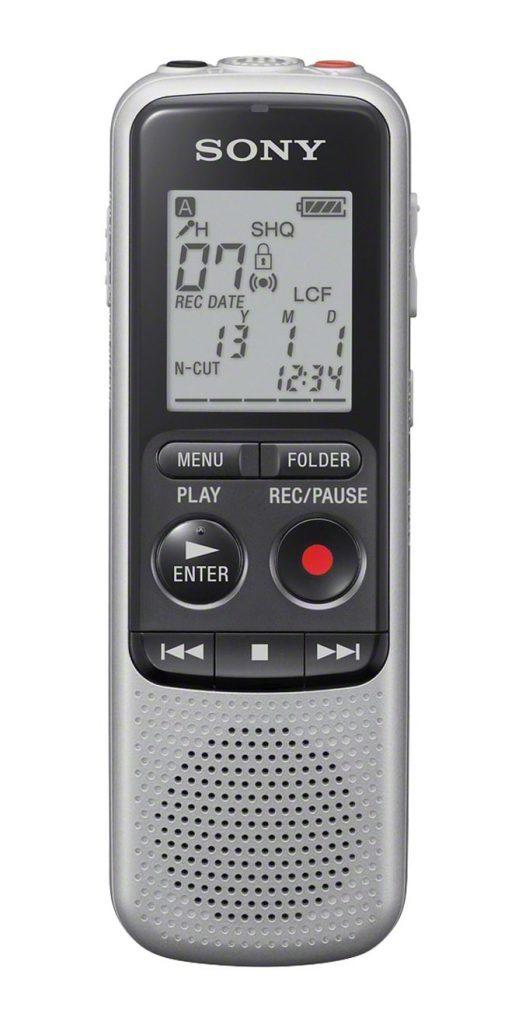 Grabadora SONY ICDPX240 4GB dictafono color gris